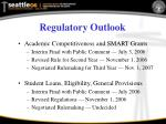 regulatory outlook