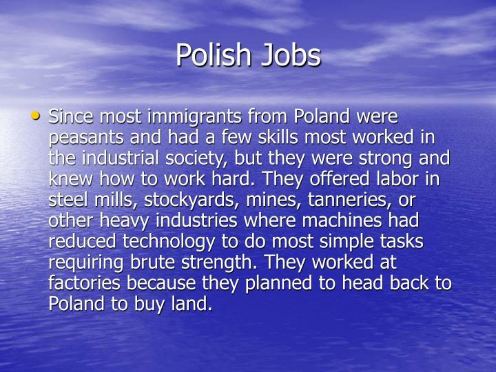 Polish Jobs