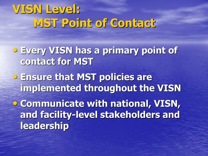 VISN Level: