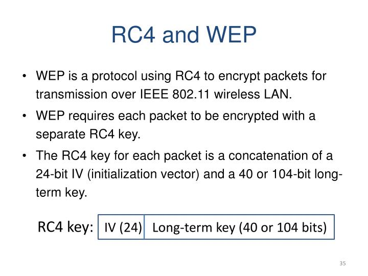 RC4 and WEP
