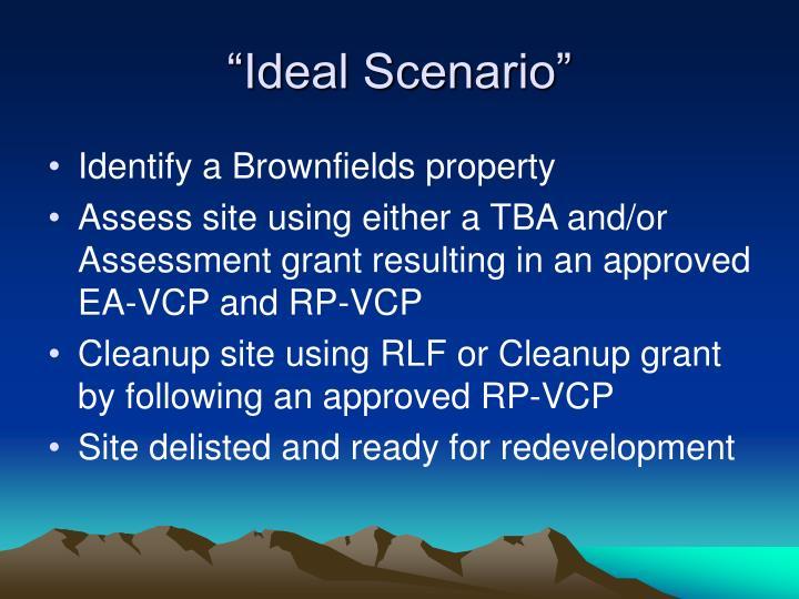 """Ideal Scenario"""