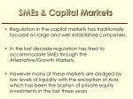 smes capital markets
