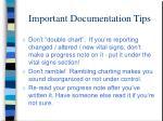 important documentation tips1
