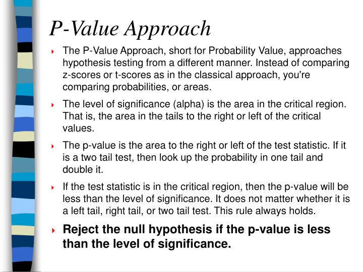 P-Value Approach