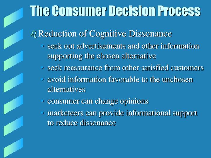 The Consumer Decision Process