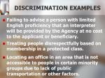 discrimination examples1