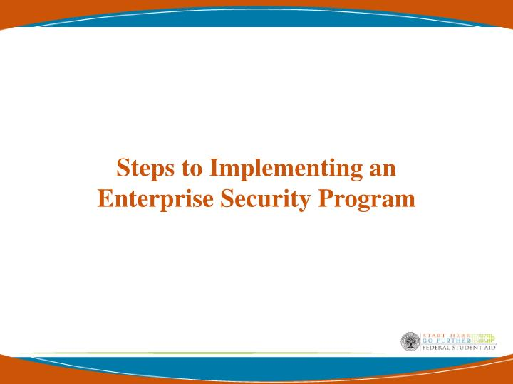 Steps to Implementing an