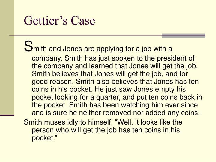 Gettier s case