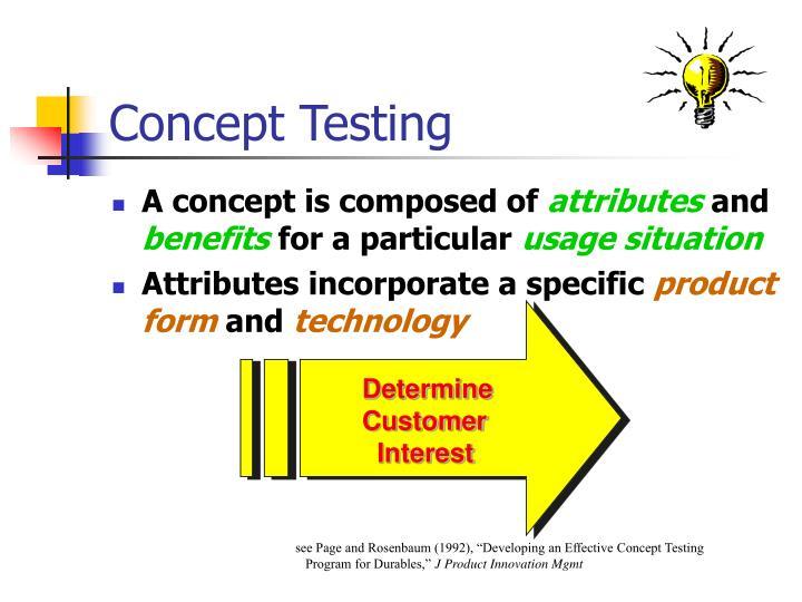 Concept testing1