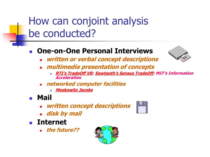 How can conjoint analysis