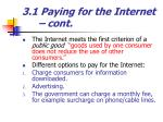 3 1 paying for the internet cont