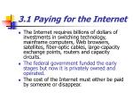 3 1 paying for the internet