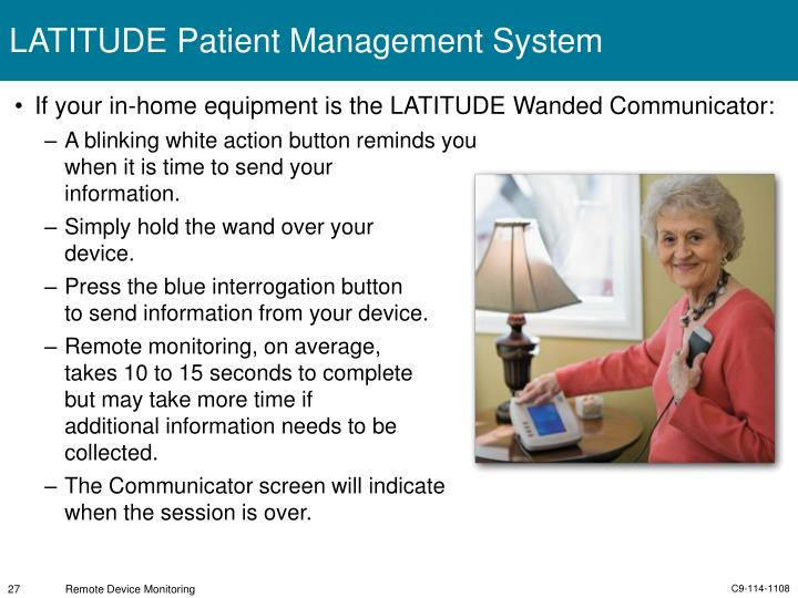 LATITUDE Patient Management System