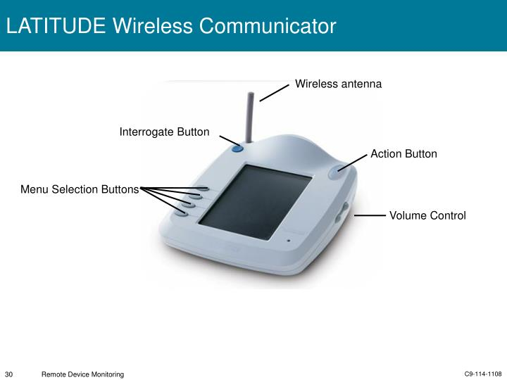 LATITUDE Wireless Communicator