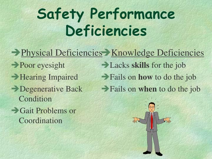 Physical Deficiencies
