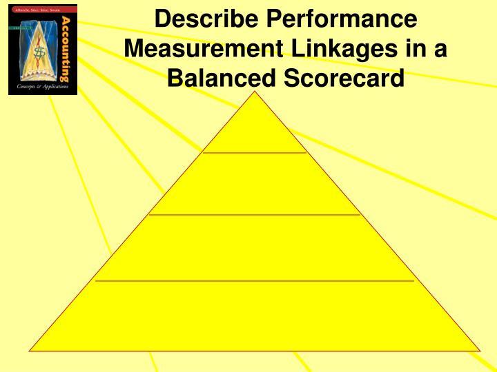 Describe Performance Measurement Linkages in a Balanced Scorecard