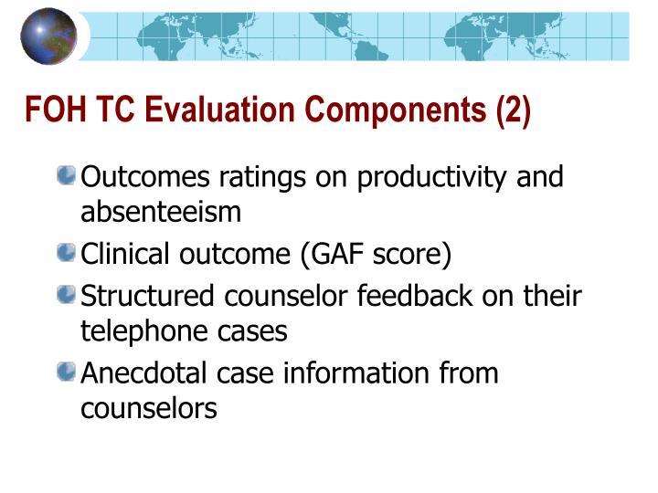FOH TC Evaluation Components (2)