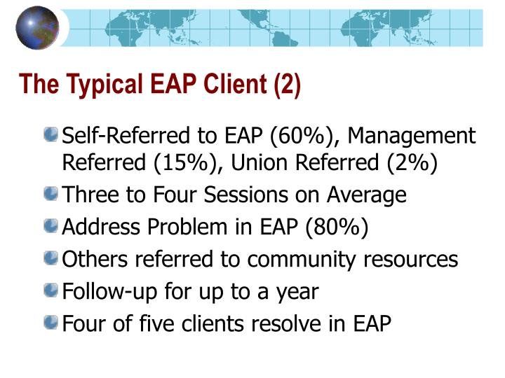 The Typical EAP Client (2)