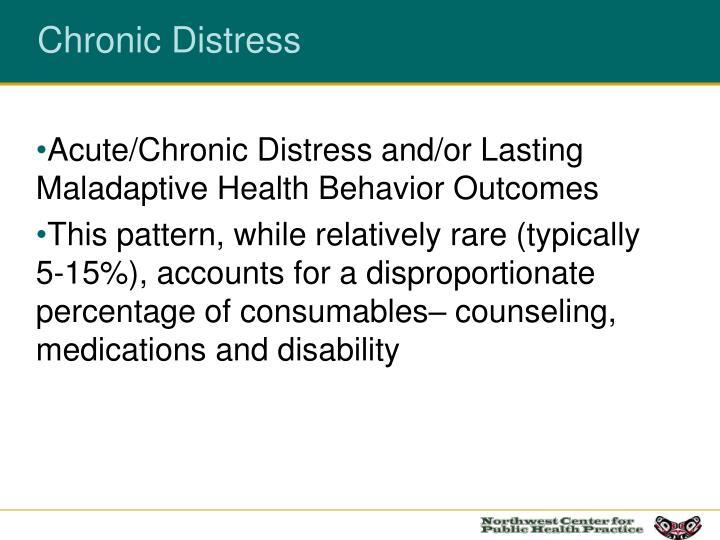 Chronic Distress