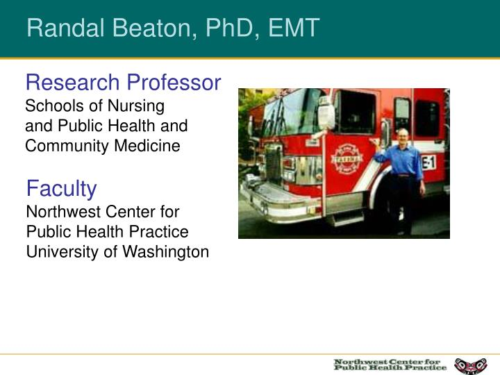 Research professor schools of nursing and public health and community medicine