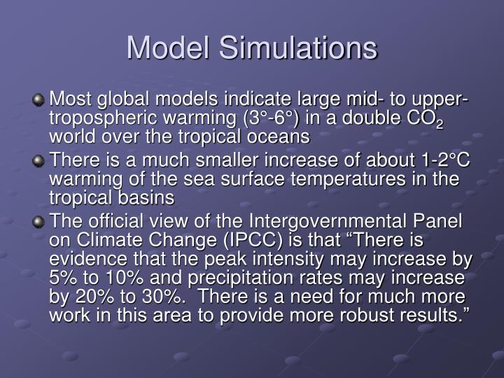 Model Simulations