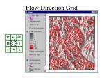 flow direction grid
