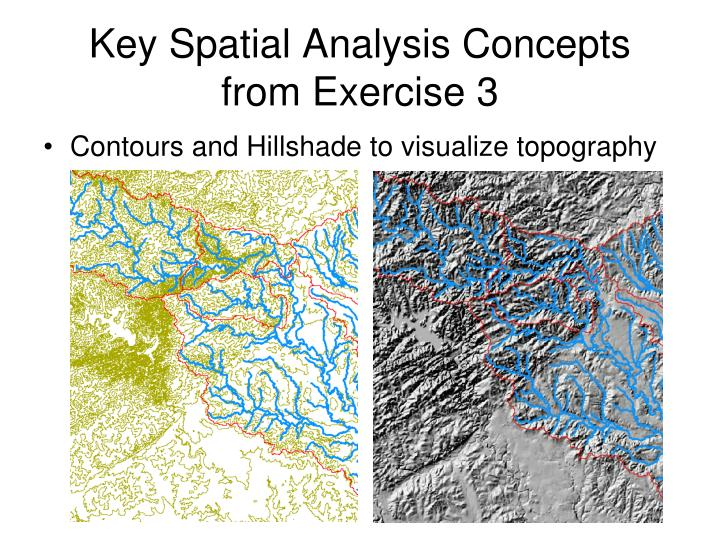 key spatial analysis concepts from exercise 3 n.