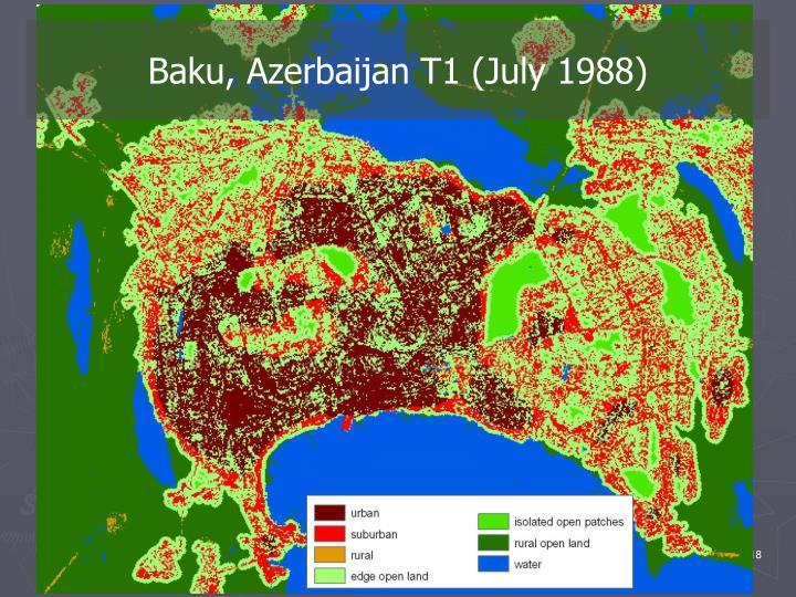 Baku, Azerbaijan T1 (July 1988)