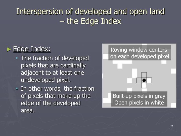 Edge Index: