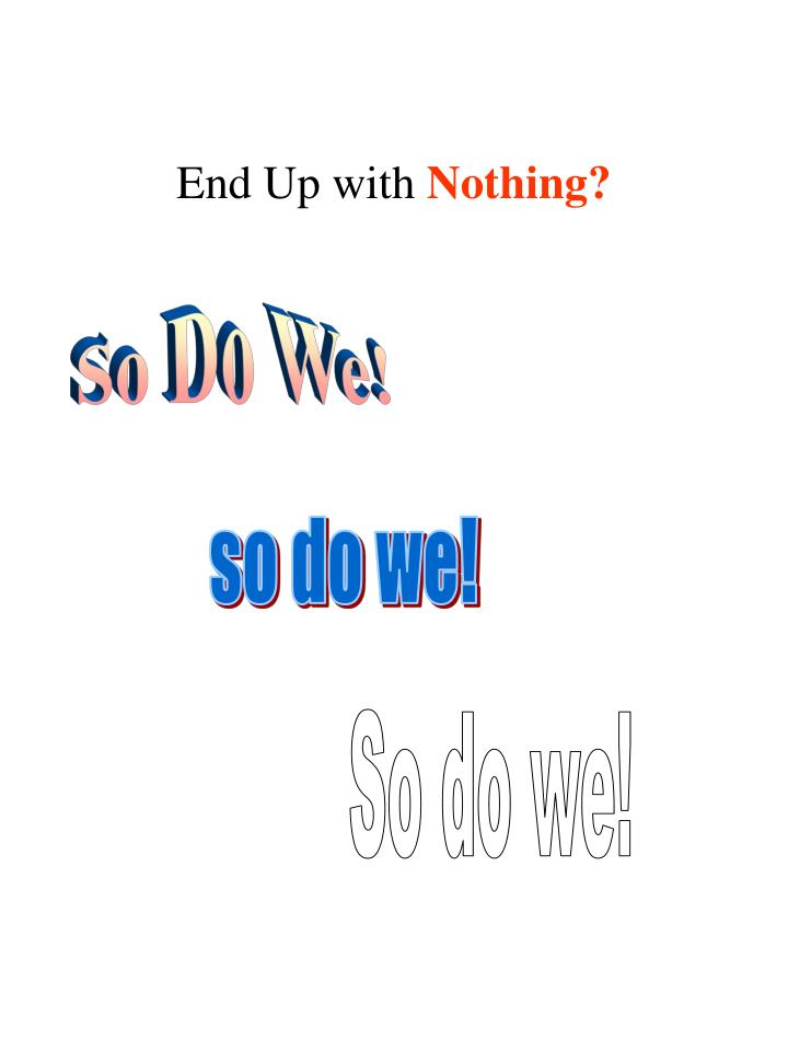 End Up with
