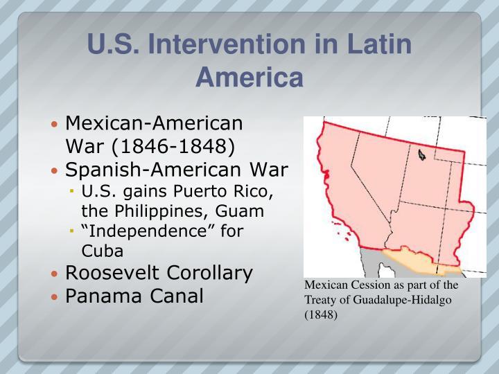 U.S. Intervention in Latin America