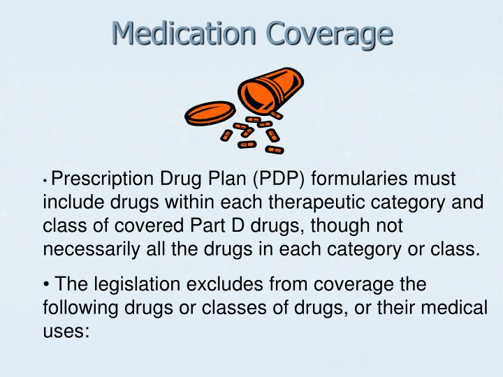 Medication coverage