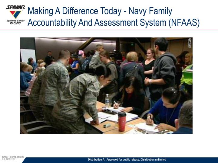 Making A Difference Today - Navy Family