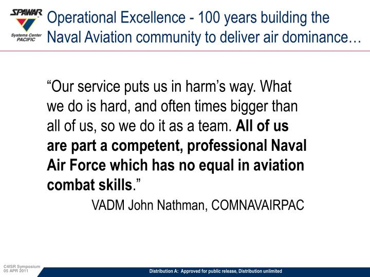 Operational Excellence -