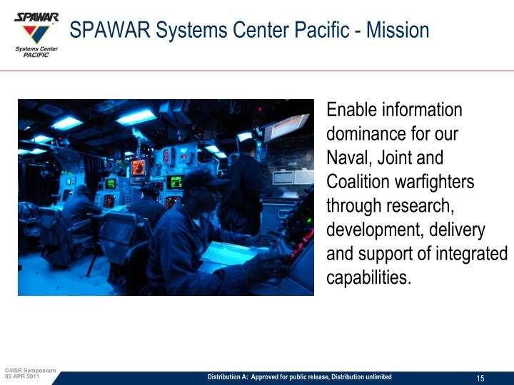 SPAWAR Systems Center Pacific - Mission