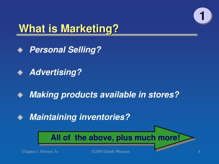 an overview of the three definitions of marketing This new definition of marketing begs an important question: what now is the difference between an integrated marketing plan and a strategic plan in our minds, very little bob sevier is a senior vp of stamats communications.