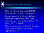 mega bytes restaurant
