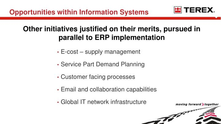 Opportunities within Information Systems