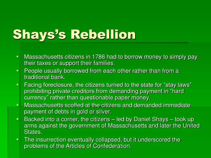 Shays's Rebellion
