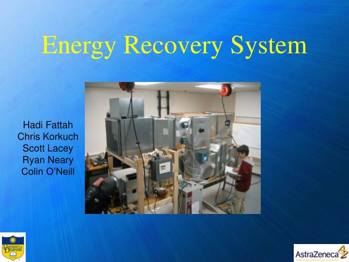 energy recovery system n.