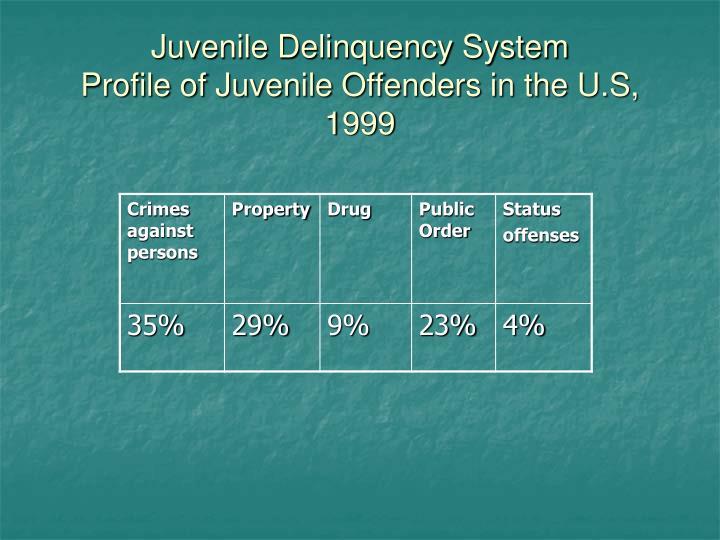 Juvenile Delinquency System