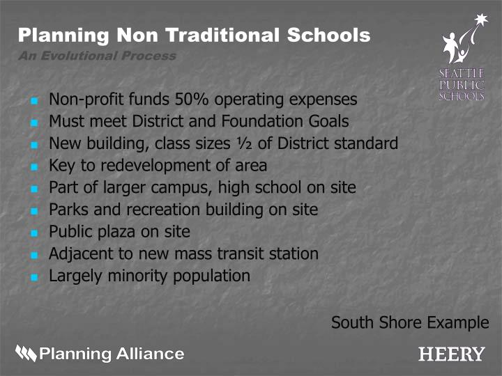 Non-profit funds 50% operating expenses