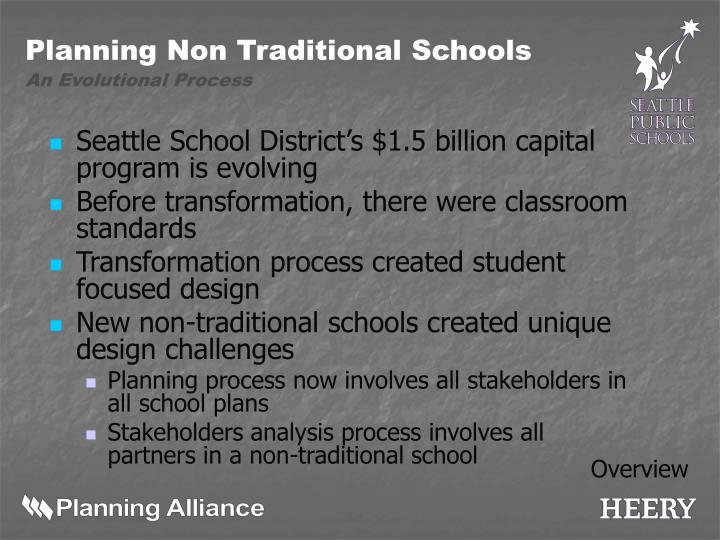 Seattle School District's $1.5 billion capital program is evolving