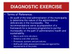 diagnostic exercise2