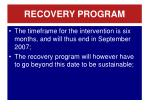 recovery program2