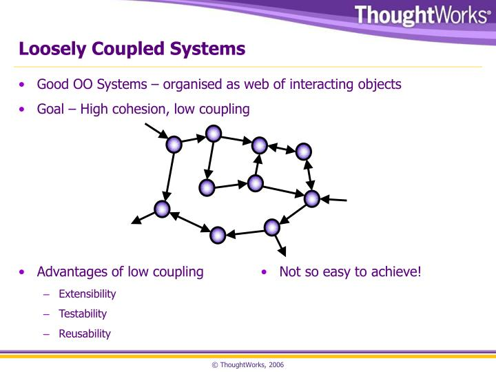 Loosely coupled systems