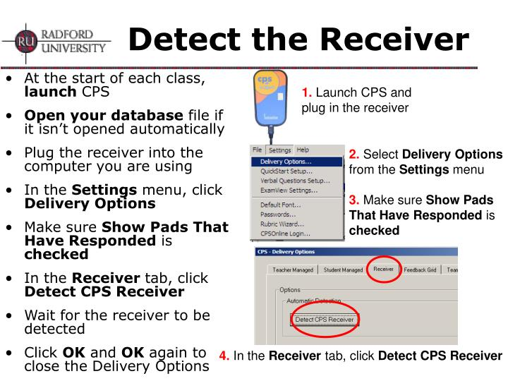 Detect the Receiver