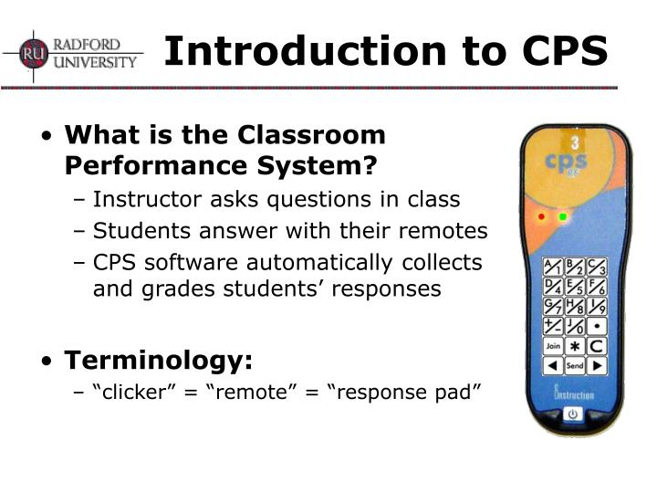 Introduction to cps