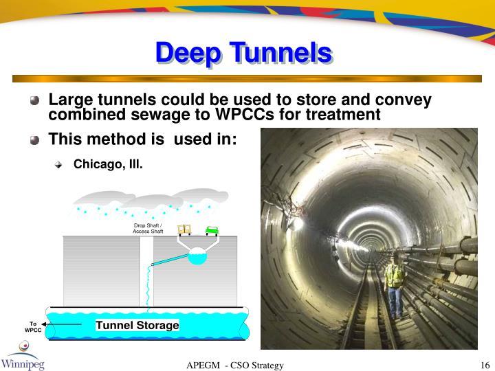 Deep Tunnels