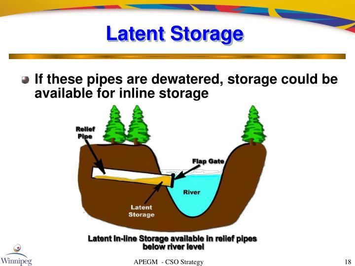 Latent Storage